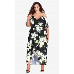 City Chic Elegant Floral Maxi Dress